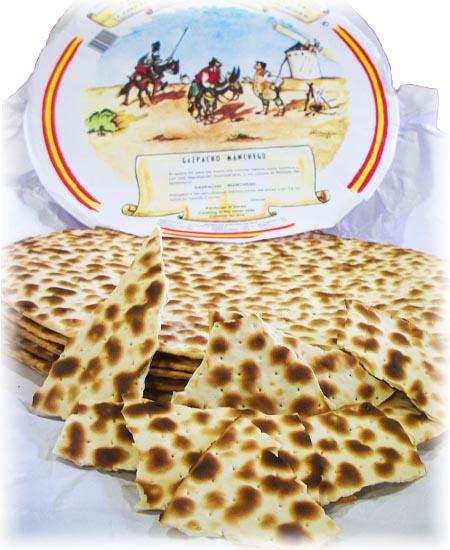 Tortas de Gazpacho