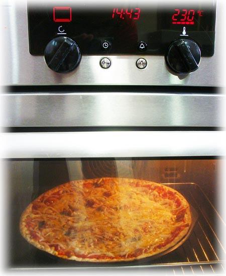 Pizza Manchega al Horno