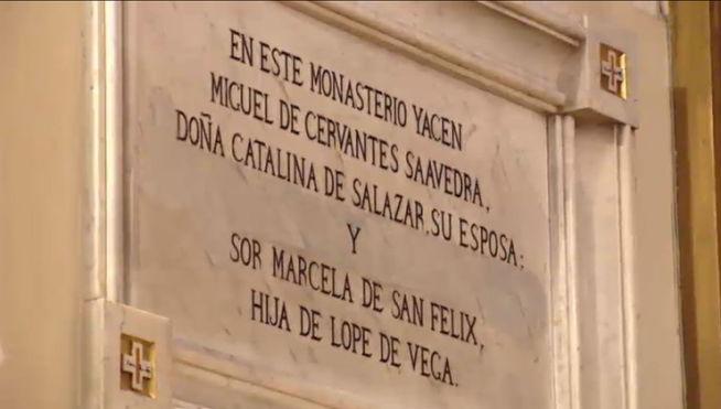 Convento con los restos de Cervantes y su esposa