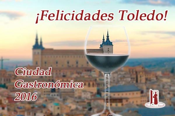 Toledo ciudad gastronómica 2016