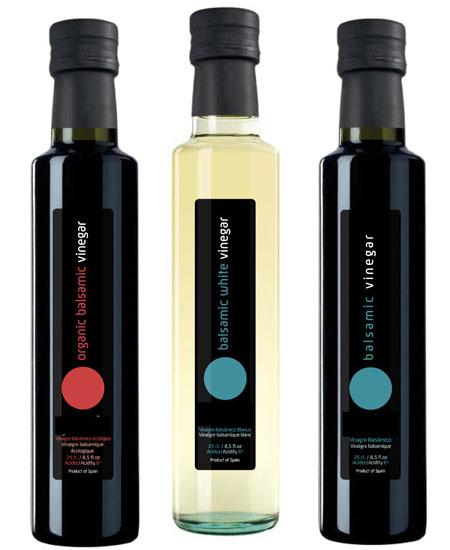Vinagre Balsamico, eco y blanco