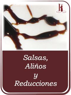 Salsas, Aliños y Reducciones de Vinagres