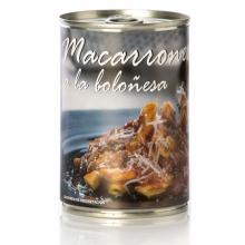 Macarrones a la Boloñesa 0.39Kg. N.