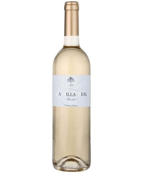 Vino Blanco Macabeo - La Villa Real 2016