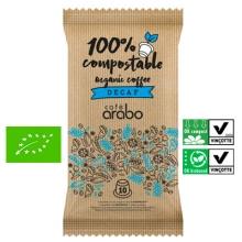 10 Capsulas Café Eco Descafeinado Arabo (compatible con Nespresso)