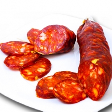 Chorizo Curado Dulce 0.35 Kg.