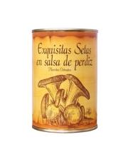 Setas en Salsa de Perdiz 0.4 Kg. N.
