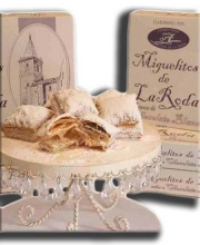 Miguelitos de Chocolate Blanco