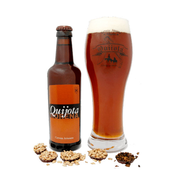 Cerveza Artesana Morena Quijota