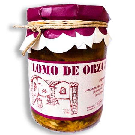 Lomo de Orza Fileteado | en Aceite de Oliva Virgen Extra
