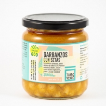 Garbanzos con setas eco