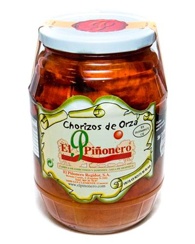 Chorizos de Orza Artesanos