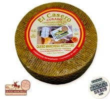 1.5Kg Manchego Cured Cheese Artisan D.O.
