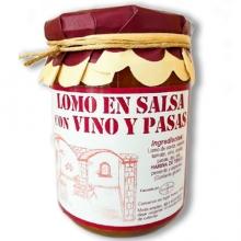 Lomo en Salsa de Vino y Pasas