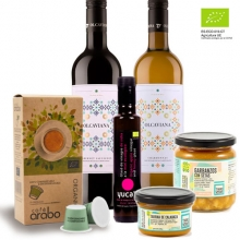 Ecological Gift Set | Coffee, Vinegar, Preserves and Wine
